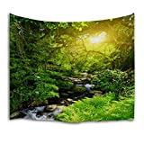 QiYI Home Wall Hanging Nature Art Polyester Fabric Tapestry For Dorm Room,Bedroom,Living Room Decorations 203cmx153cm-Sunshine 10