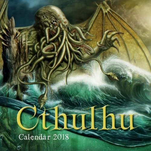 Cthulhu 2018: Original Flame Tree Publishing-Kalender [Kalender] (Wall-Kalender)