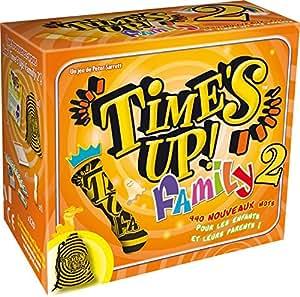Asmodée - TUF2 - Jeu d'Ambiance - Time's Up! Family 2 - Orange