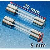 DÜWI 4 St. Sicherungen f4A, 4A flink EN 60127-2/2 (2 Pack a' 2 St.)