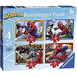 Ravensburger UK 6915 Marvel Spider-Man - Puzzles de 4 en Caja