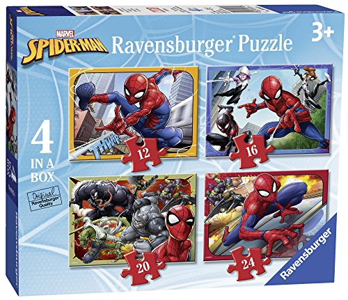 Ravensburger Italy Puzzle in a Box Spiderman, 06915 6