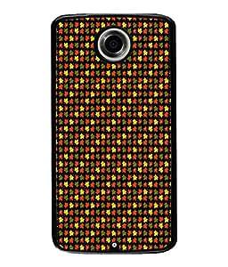 FUSON Designer Back Case Cover for Huawei Nexus 6P :: Huawei Google Nexus 6P (Seamless Pattern Blue Design Drawing )