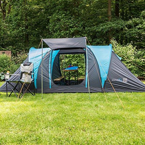 skandika hammerfest 4 protect tenda campeggio 2 cabine