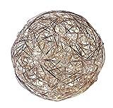 Naeve Leuchten Tischleuchte für Innen und Außen geeignet / inklusiv Leuchtmittel LED / d - 30 cm / Material - Aluminium 3085260