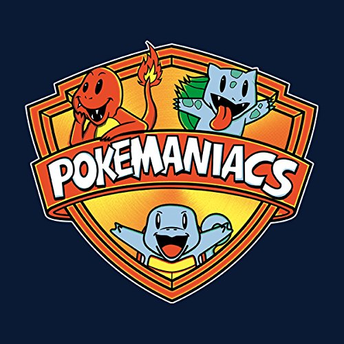 Pokemaniacs Starters Pokemon Women's Hooded Sweatshirt Navy Blue