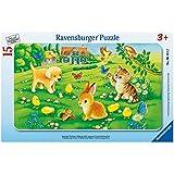 Ravensburger-06111-Kuschlige-Tierkinder