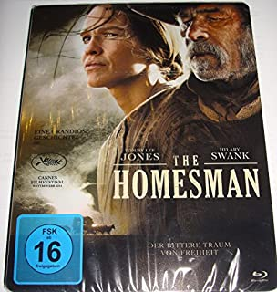 The Homesman - Steelbook [Limited Edition] [Blu-ray]