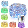 8 Packs 20 LED String Lights, Copper Wire Lights Battery Operated Starry Fairy Lights by Kohree - Read Reviews