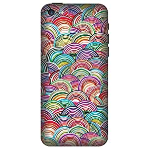 Digi Fashion Designer Back Cover with direct 3D sublimation printing for Apple iPhone 5C