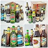 BIERE DER WELT Geschenk Box für Männer + gratis Bierbuch + Geschenkkarten + mehr. Bierset mit Bier aus Amerika + Asien + Tschechien + Belgien + Spanien … Geschenkset + Biergeschenke aus aller Welt - 2