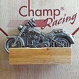 Motorrad Taschenmesser Metall Klappbar Biker Geschenkbox Champ Messer