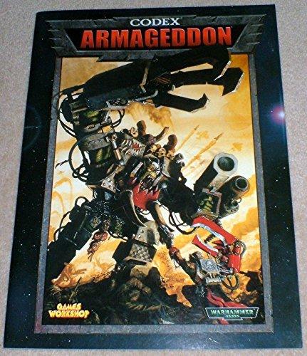 Codex: Armageddon (Warhammer 40,000) by Andy Chambers (2000-07-30) par Andy Chambers;Jervis Johnson;Gavin Thorpe
