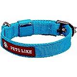 PetsLike Collar, Sky Blue (20 mm)