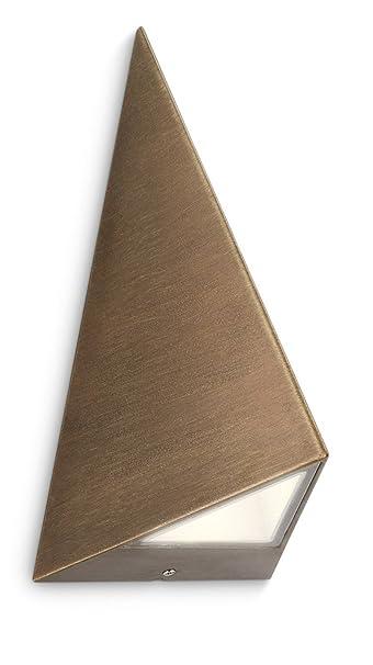 Philips hills lampada da parete per esterno, triangolare, metallo ...