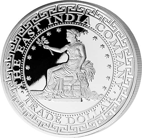 Power Coin US Vereinigte Staaten Trade Dollar 1 Oz Silber Münze 1$ Niue 2019
