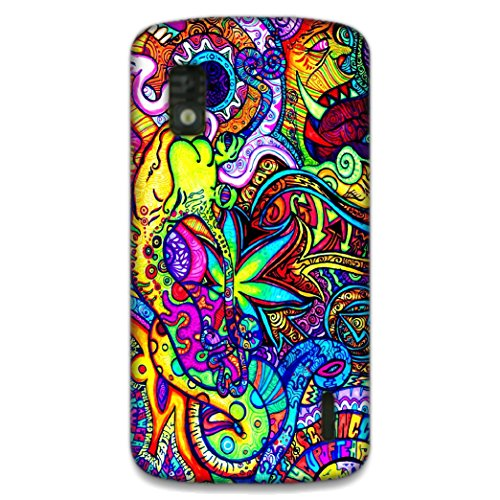 The Racoon Lean printed designer hard back mobile phone case cover for LG Nexus 4. (Fly)  available at amazon for Rs.99