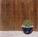 Weidenzaun 200x300cm Weiden-matte Sichtschutz Balkon Terrasse Garten Weide Matte inklusive