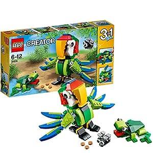 LEGO Creator - 31031 - Jeu De Construction - Les Animaux De La Forêt Tropicale