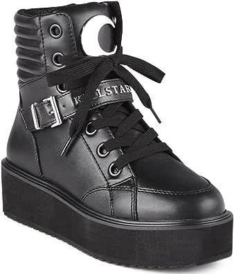 Killstar Plateauschuhe Luna High Top Sneakers
