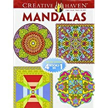 Mandalas Adult Coloring Book: Deluxe Edition 4 Books in 1