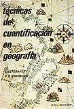Tecnicas de cuantificacion en geografia