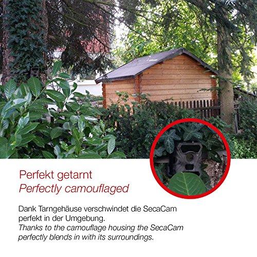 【Full HD Tag- / Nachtsicht】 Kabellose getarnte Überwachungskamera Wildkamera SECACAM RAPTOR – 12 MP / 0 - 5