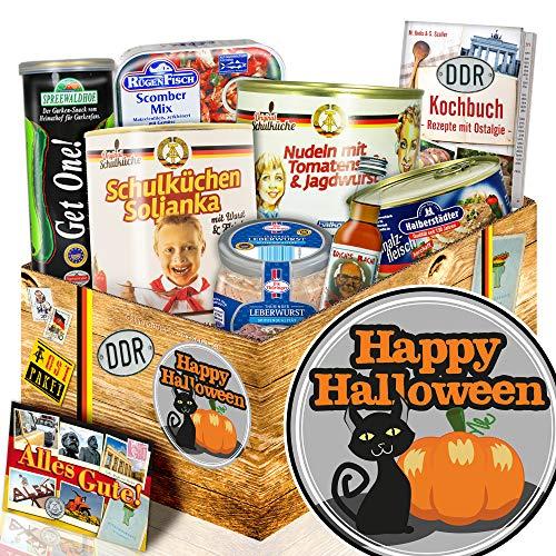 (Happy Halloween + Halloween geburtstagsparty + Ostprodukte Geschenkbox)