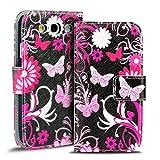 Verco Handyhülle Galaxy S3 Neo Muster, Motiv Hülle für Samsung Galaxy S3 Book Case Flip Cover - Design 7