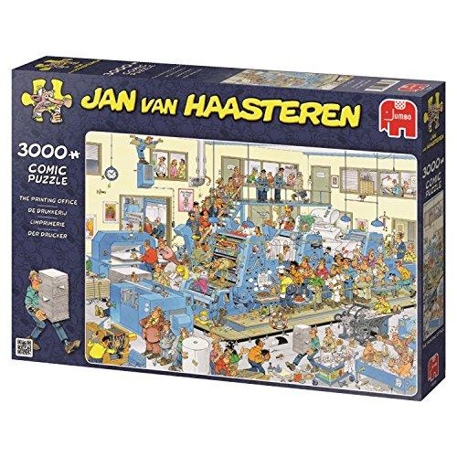 Jumbo - Puzzle The Printing House, 3000 piezas