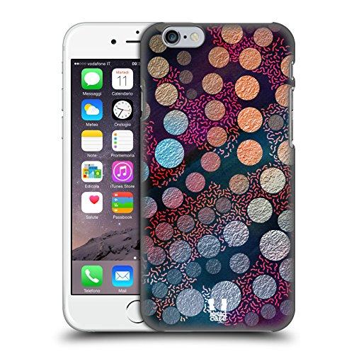Fall + Ständer superdünn Polycarbonat Displayschutzfolie für Apple iPhone 6/6S/7/7s/8Hard Snap on Back Cover Bunte Muster Micro