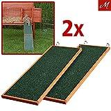 Trixie natura Holzrampe 20x50cm für Kleintierkäfige, 2er Set