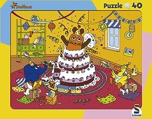 Schmidt Spiele - Puzzle con Marco Sendung mit Der Maus de 40 Piezas