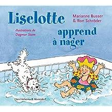 Liselotte apprend a nager