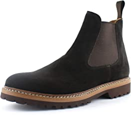 Giorgio Rea Herrenschuhe Stiefel Schnürhalbschuhe Echtes Leder, Handgefertigt in Italien