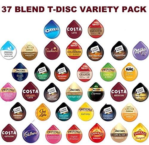 Foto de TASSIMO T-disc - Cápsulas de 37 sabores (46 T-discs)