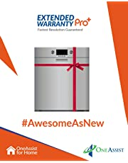 OneAssist 2 Years Extended Warranty Pro Plus plan for Dishwashers Between Rs. 30,001 - Rs. 50,000