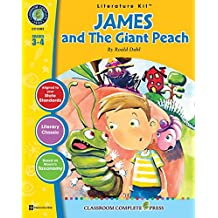 A Literature Kit for James and the Giant Peach, Grades 3-4 [With 3 Overhead Transparencies]
