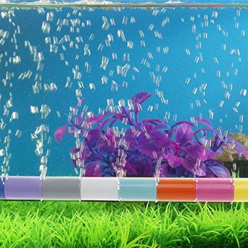 ECMQS Aquarium Air Bubble Tube Stein, Aquarium Aerator Pumpe Hydroponische Sauerstoff Diffusor