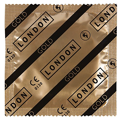 London Gold, 1er Pack (1 x 100 Stück) (London Tragen)