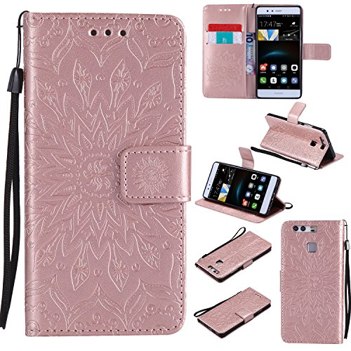 for-huawei-p9-case-rose-goldcozy-hut-wallet-case-magnetic-flip-book-style-cover-case-high-quality-cl