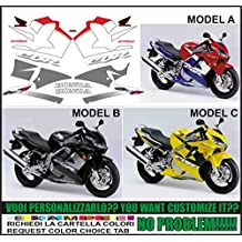 Kit adesivi decal stickers HONDA CBR 600 F 2001 (ability to customize the colors)