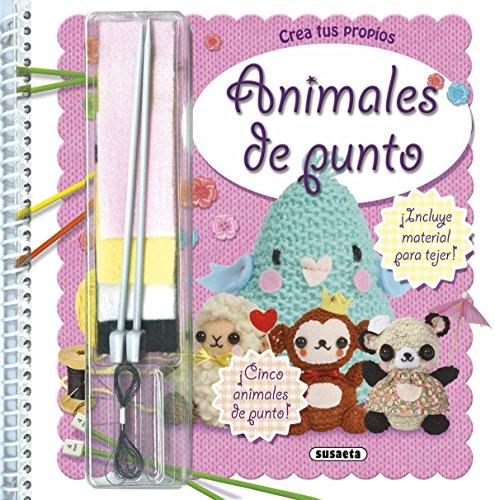 Animales de punto (Diseña y crea) por S.A. (SUSAE) Susaeta Ediciones