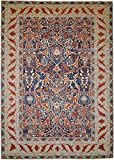 Nain Trading Arijana Klassik 420x304 Orientteppich Teppich Beige/Rost Handgeknüpft Pakistan