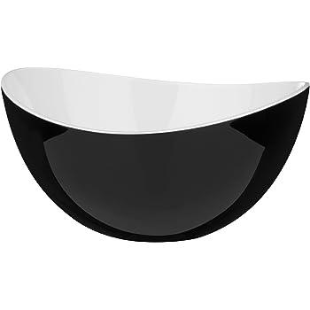 Fairmont & Main Raw 36cm Platter Tide 12.5 x 36 x 2 cm Black/Blue Ceramic