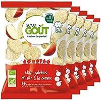 Good Goût - BIO - Mini Galettes de Riz à la Pomme dès 10 Mois 40 g - Lot de 5