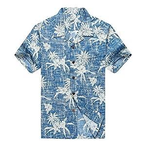 Hombres Aloha Camisa Hawaiana en