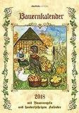 Herlitz 50011124 Bildkalender Bauernkalender 2018