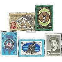 Union soviétique 4766,4773,4774,4776,4779 (Complète.Edition.) 1978 ConservUntion, OSS, tremblement de Terre d\u0026#39;Unide u.Un (Timbres pour Les collectionneurs) L´Espace