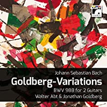 Bach: Goldberg Variations, BWV 988 (Arr. for Two Guitars by Walter Abt)